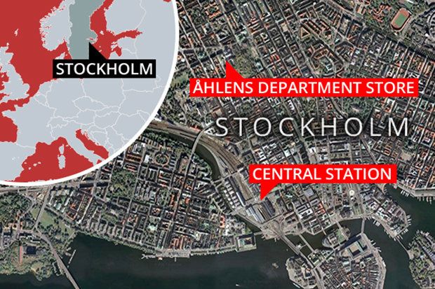 At least 3 dead, 1 arrested after terror attack in Stockholm