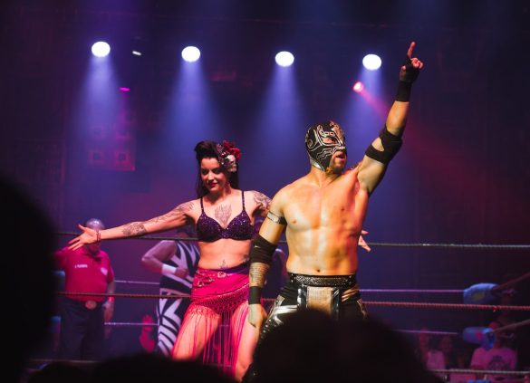 Lucha Vavoom @ The Mayan 5/4/2017