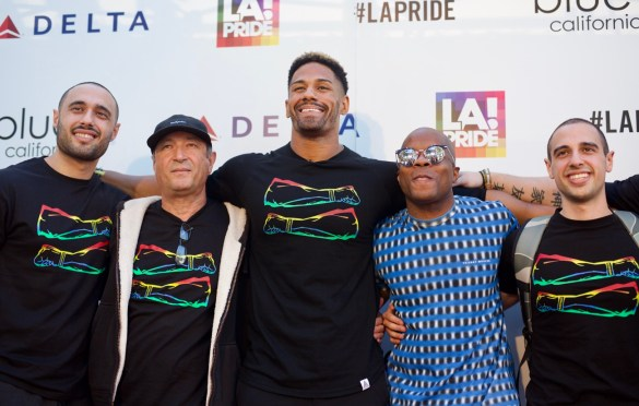 Darren Young & Friends @ L.A. PRIDE 2017 Red Carpet // Atmosphere // Photo by Derrick K. Lee, Esq. (@Methodman13)