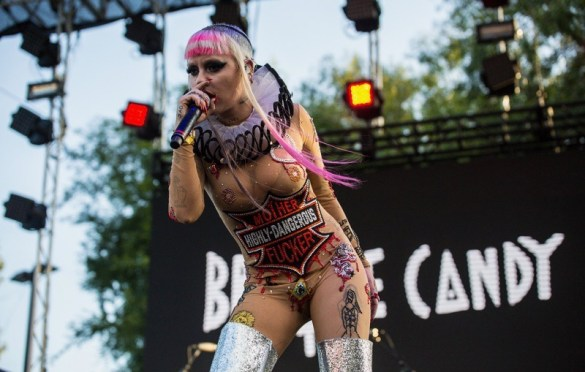 Brooke Candy @ L.A. PRIDE 6/11/17  // Photo by Summer Dos Santos (@SummerDosSantos) for www.BlurredCulture.com.