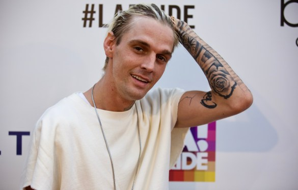 Aaron Carter @ L.A. PRIDE 2017 Red Carpet // Atmosphere // Photo by Derrick K. Lee, Esq. (@Methodman13)
