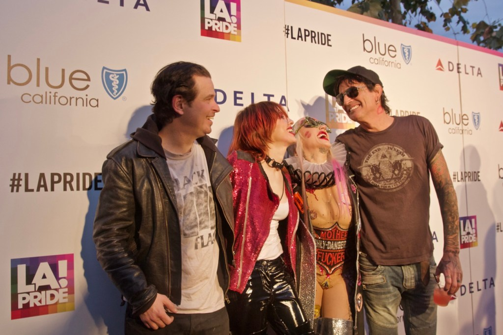 Brooke Candy & Friends @ L.A. PRIDE 2017 // Red Carpet // Photo by Simone Jenkins (@simonemeetsworld) for Blurred Culture.