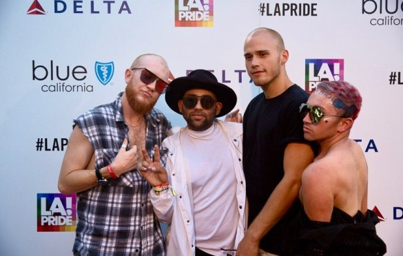 Parson James & Friends @ L.A. PRIDE 2017 Red Carpet // Atmosphere // Photo by Summer Dos Santos (@SummerDosSantos)