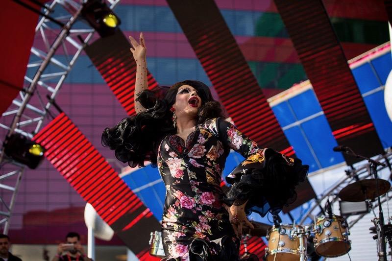 Valentina @ L.A. PRIDE 6/11/17 // Photo by Summer Dos Santos (@SummerDosSantos) for www.BlurredCulture.com.