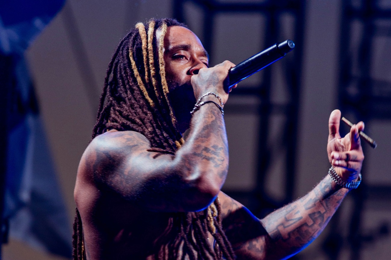 Ty Dolla $ign at HARD Summer 8/5/17 @ Glen Helen Amphitheater. Photo by Justin James (@JustnJames_) for www.BlurredCulture.com.