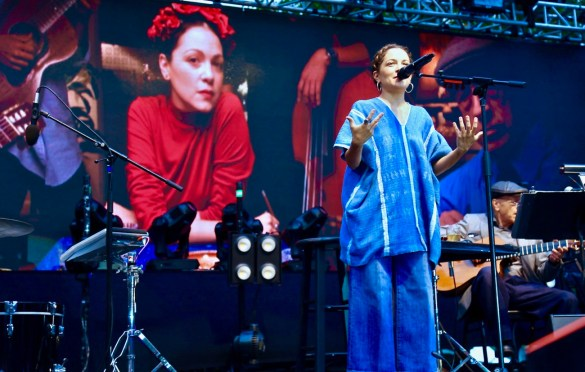 Natalia Lafourcade at KRCW/Annenberg Space for Photography's