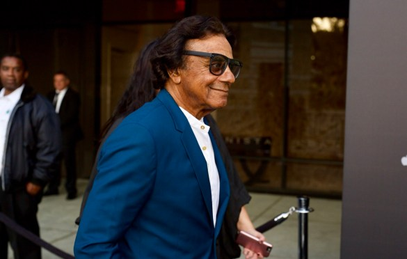 Johnny Mathis on the Red Carpet for