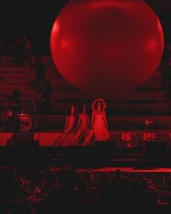 Solange at The Hollywood Bowl 9/24/17. Photo by Miranda McDonald (@MirandaMcDonald). Used with permission.