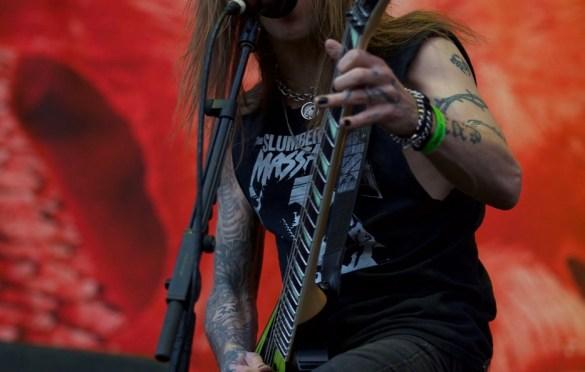 Children of Bodom @ Ozzfest Meets Knotfest 11/4/17. Photo by Derrick K. Lee, Esq. (@Methodman13) for www.BlurredCulture.com.