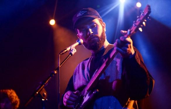 Nick Hakim at The Echoplex 10/19/17. Photo by Derrick K. Lee, Esq. (@Methodman13) for www.BlurredCulture.com.