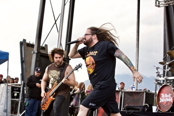 Black Dahlia Murder @ Ozzfest Meets Knotfest 11/5/17. Photo by Derrick K. Lee, Esq. (@Methodman13) for www.BlurredCulture.com.
