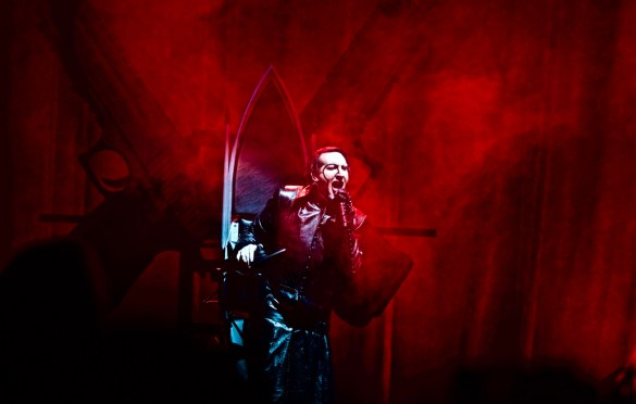 Marilyn Manson @ Ozzfest Meets Knotfest 11/5/17. Photo by Derrick K. Lee, Esq. (@Methodman13) for www.BlurredCulture.com.