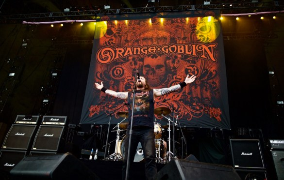 Orange Goblin @ Ozzfest Meets Knotfest 11/4/17. Photo by Derrick K. Lee, Esq. (@Methodman13) for www.BlurredCulture.com.