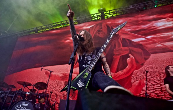 Children of Bodom @ Ozzfest Meets Knotfest 11/4/17. Photo by Derrick K. Lee, Esq. (@Methodman13) for www.BlurredCulture.com.