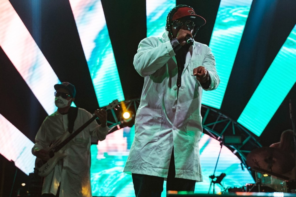 Dr. Octagon at Music Tastes Good 2017 10/1/17. Photo by Hector Vergara (@theHextron) for www.BlurredCulture.com.
