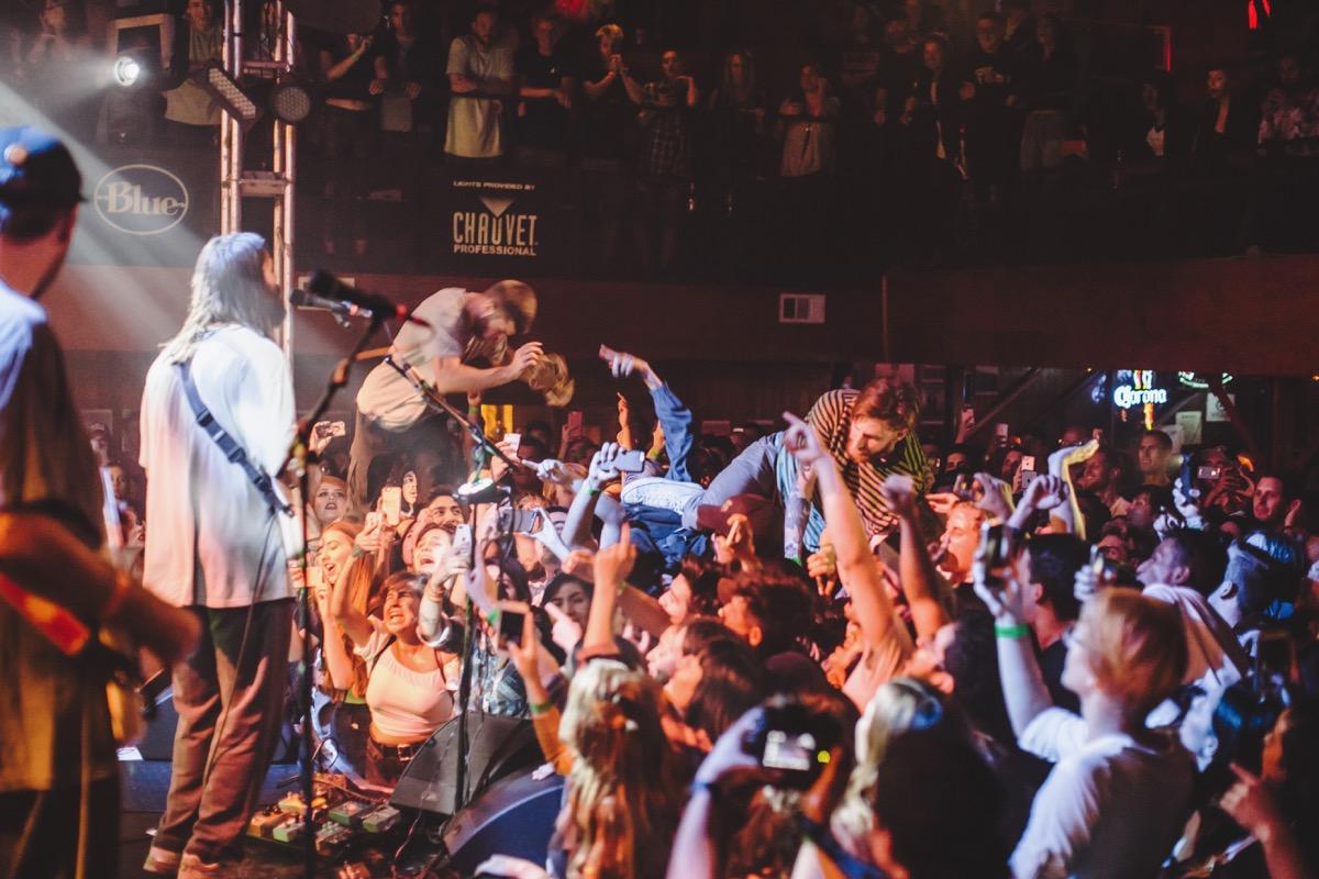 Turnover @ The Troubadour 10/26/17. Photo by Ian Zamorano (@UnfollowChamo) for www.BlurredCulture.com.