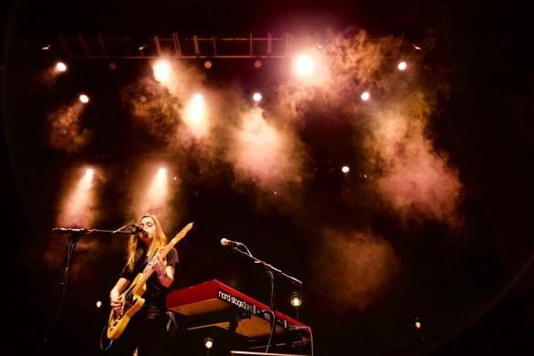 Julien Baker @ Palace Theatre 12/14/17. Photo by Derrick K. Lee, Esq. (@Methodman13) for www.BlurredCulture.com.