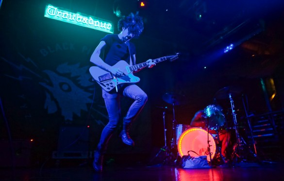Black Pistol Fire @ Troubadour 11/18/17. Photo by Derrick K. Lee, Esq.(@Methodman13) for www.BlurredCulture.com.
