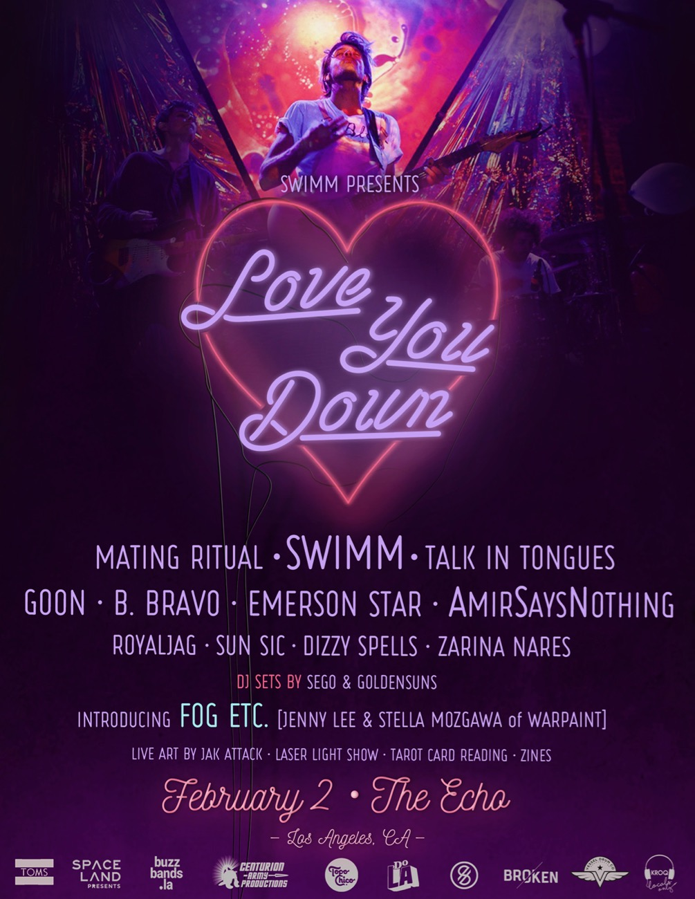 SWIMM presents Love You Down II.