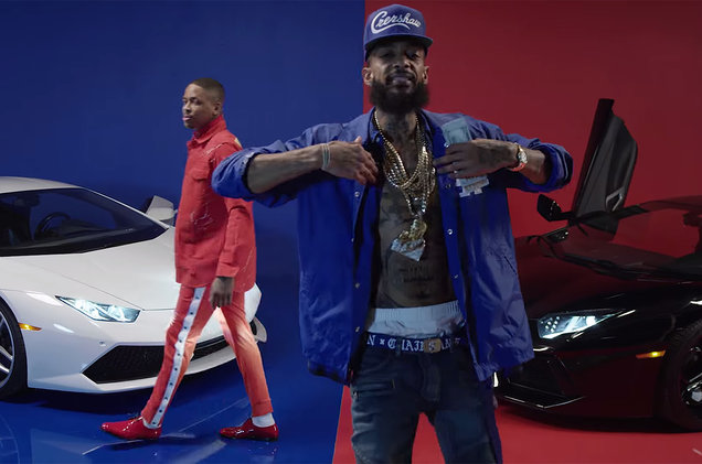 Nipsey Hussle feat. YG – Last Time That I Checc'd (Official Video)