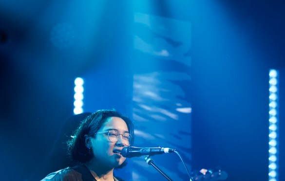 Jay Som for Girlschool @ Bootleg Theatre 2/4/18. Photo by Derrick K. Lee, Esq. (@Methodman13) for www.BlurredCulture.com.