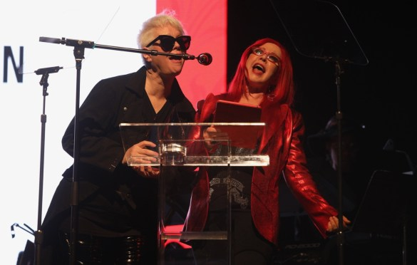 B-52s at the She Rock Awards at the House of Blues, Anaheim 1/26/18. Photo by Kevin Graft. Used with permission.