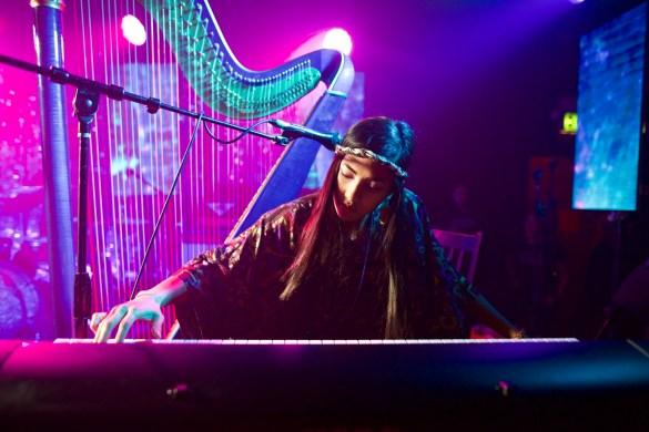 Low Leaf for Girlschool @ Bootleg Theatre 2/4/18. Photo by Derrick K. Lee, Esq. (@Methodman13) for www.BlurredCulture.com.