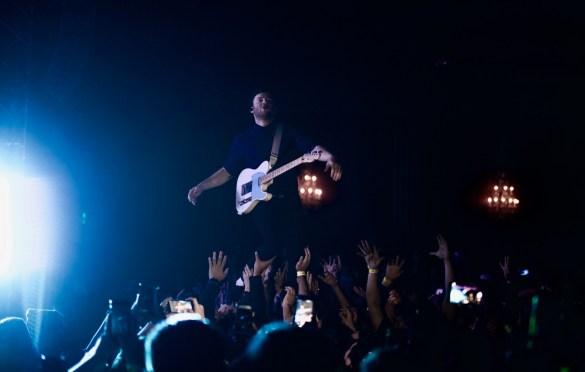 Enter Shikari @ El Rey Theatre 2/23/18. Photo by Derrick K. Lee, Esq. (@Methodman13) for www.BlurredCulture.com.