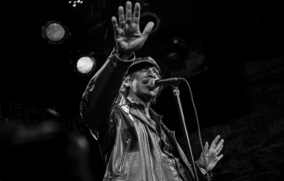 Kid Congo for Alan Vega's Tribute @ Bowery Electric 1/25/18. Photo by Vivian Wang (@Lithophyte) for www.BlurredCulture.com.