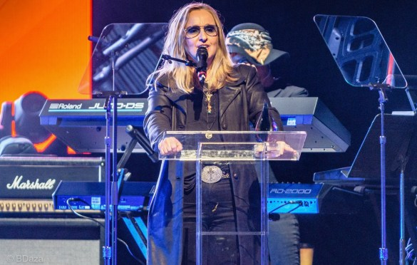 Melissa Etheridge at the She Rock Awards at the House of Blues, Anaheim 1/26/18. Photo by Brandon Saza. Used with permission.