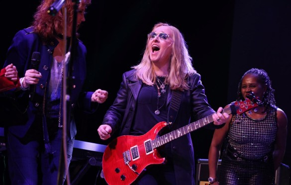 Melissa Etheridge at the She Rock Awards at the House of Blues, Anaheim 1/26/18. Photo by Kevin Graft. Used with permission.