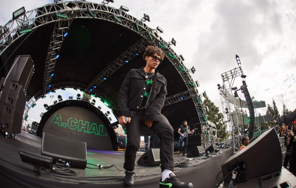 A.Chal @ Air + Style 3/3/18. Photo courtesy of Air + Style. Used with permission.