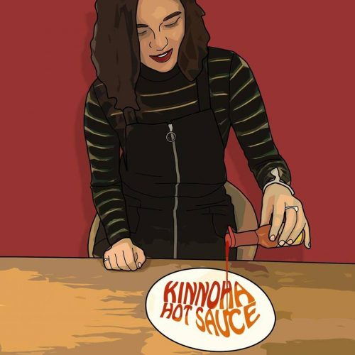 UK singer Kinnoha has some Hot Sauce to spice up Valentines Day