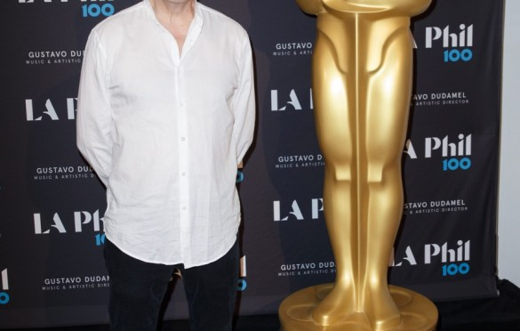 "Oscar®-nominated composer Carter Burwell prior to ""The Oscar Concert"" presented by the Academy of Motion Picture Arts and Sciences on Thursday, February 28, at the Walt Disney Concert Hall in Los Angeles. The Oscars® will be presented on Sunday, March 4, 2018, at the Dolby Theatre® in Hollywood, CA and televised live by the ABC Television Network. Photo by Paul Heber/ (C) A.M.P.A.S. Used with permission."
