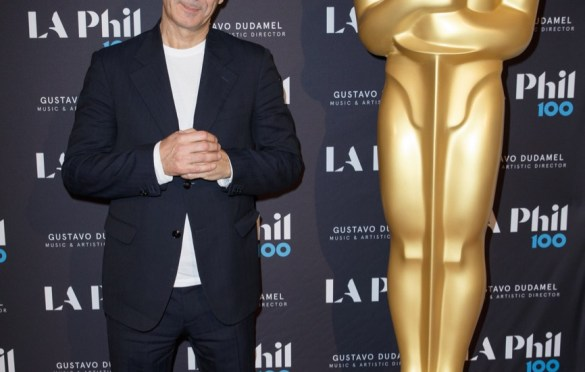 """Oscar®-nominated composer Alexandre Desplat prior to """"The Oscar Concert"""" presented by the Academy of Motion Picture Arts and Sciences on Thursday, February 28, at the Walt Disney Concert Hall in Los Angeles. The Oscars will be presented on Sunday, March 4, 2018, at the Dolby Theatre® in Hollywood, CA and televised live by the ABC Television Network. Photo by Paul Hebert/ (C) A.M.P.A.S. Used with permission."""