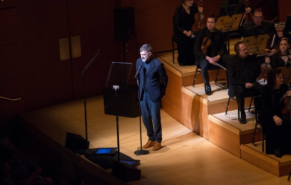 "Director Paul Thomas Anderson during ""The Oscar Concert"" presented by the Academy of Motion Picture Arts and Sciences on Thursday, February 28, at the Walt Disney Concert Hall in Los Angeles. The Oscars® will be presented on Sunday, March 4, 2018, at the Dolby Theatre® in Hollywood, CA and televised live by the ABC Television Network. Photo by Paul Hebert/ (C) A.M.P.A.S. Used with permission."