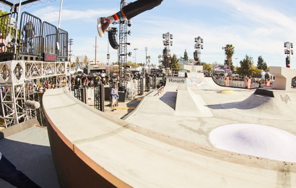 Skateboarding Tricks @ Air + Style 2018. Photo courtesy of Air + Style. Used with permission.