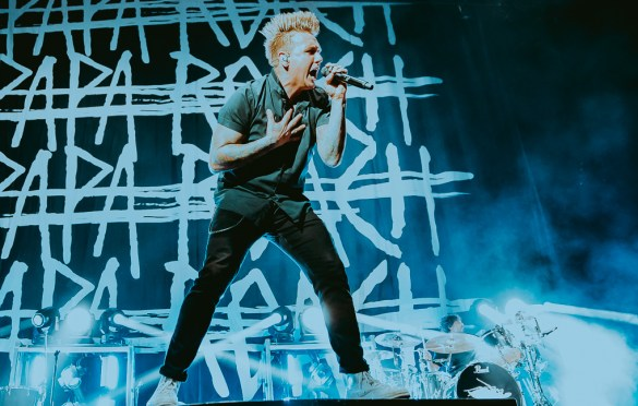 Papa Roach @ Peterson Events Center 3/17/18. Photo by Jackson Fleming (@JacksonHFleming) for www.BlurredCulture.com.