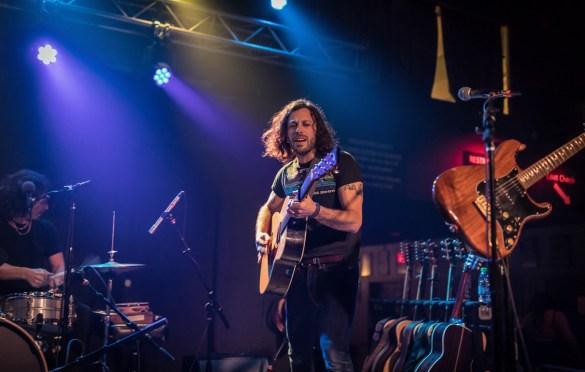 Good Old War @ Brighton Music Hall 3/15/17. Photo by Pat Gilrane Photo (@njpatg) for www.BlurredCulture.com.