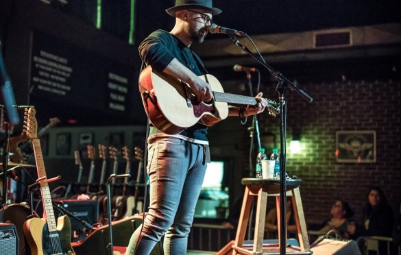 River Matthews @ Brighton Music Hall 3/15/17. Photo by Pat Gilrane Photo (@njpatg) for www.BlurredCulture.com.