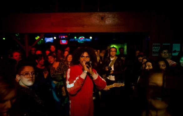 Dean Passarella & Kameron Grae @ The Troubadour 3/29/18. Photo by Derrick K. Lee, Esq. (@Methodman13) for www.BlurredCulture.com.