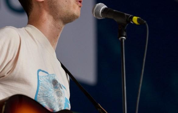 Joey Dosik @ Banger's for SXSW 3/14/18. Photo by Derrick K. Lee, Esq. (@Methodman13) for www.BlurredCulture.com.