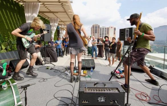 Ramonda Hammer @ SXSW 3/17/18. Photo by Derrick K. Lee, Esq. (@Methodman13) for www.BlurredCulture.com.