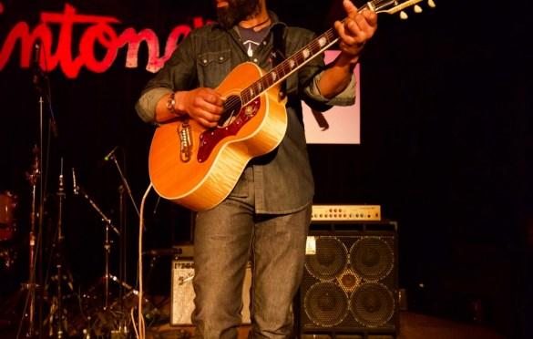 Deva Mahal @ Antone's during SXSW for Miles Davis House 3/17/18. Photo by Derrick K. Lee, Esq. (@Methodman13) for www.BlurredCulture.com.