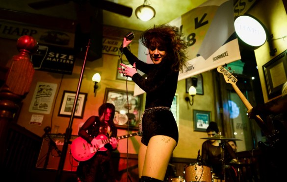 Thunderpussy @ BD Riley's for SXSW 3/13/18. Photo by Derrick K. Lee, Esq. (@Methodman13) for www.BlurredCulture.com.