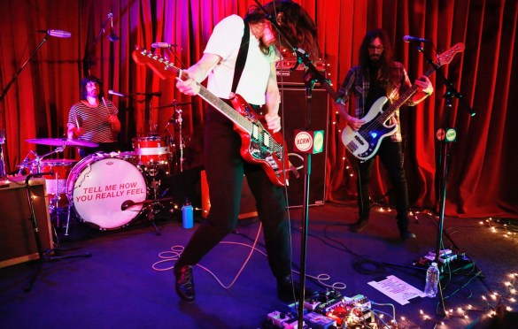 Courtney Barnett @ KCRW'S Apogee Sessions 5/9/18. Photo by Larry Hirshowitz. Courtesy of KCRW. Used with permission.