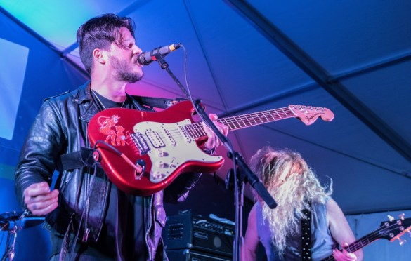 Wavves @ Bangers for SXSW 3/15/18. Photo by Mike Golembo (@Instalembo) for www.BlurredCulture.com.