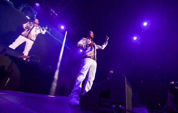 DJ Quik for 93.5 KDAY's Krush Groove @ The Forum 4/21/18. Photo by Derrick K. Lee, Esq. (@Methodman13) for www.BlurredCulture.com.