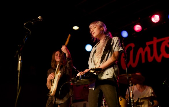 Larkin Poe @ Antone's during SXSW 3/17/18. Photo by Derrick K. Lee, Esq. (@Methodman13) for www.BlurredCulture.com.