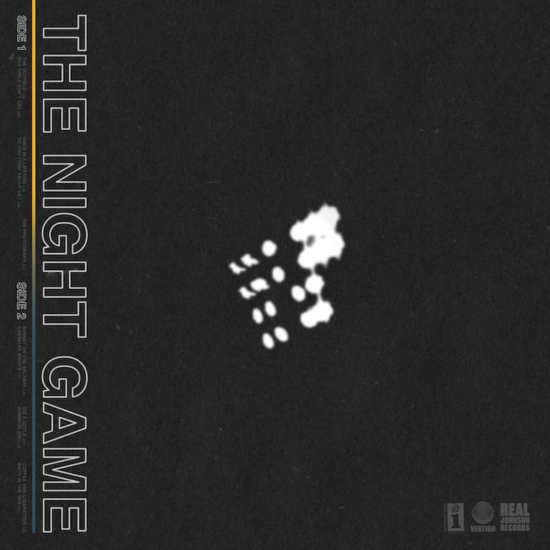 The Night Game. Album Artwork.